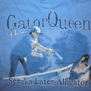 ADULT GATOR QUEEN BLUE